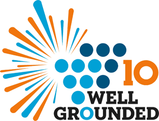 logo well-grounded 10 ans